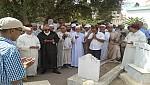 التوفيق ووالي الجهة الشرقية يشيعان جنازة العلامة الحدادي رحمه الله