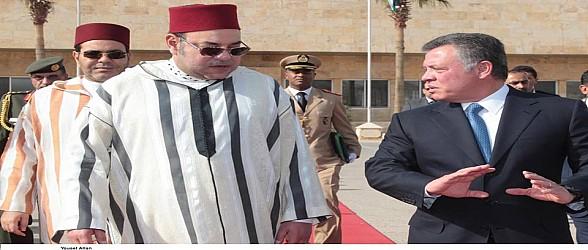 المغرب والأردن.. علاقات تاريخية ما فتئت تزداد متانة في عهد جلالة الملك محمد السادس وجلالة الملك عبد الله الثاني