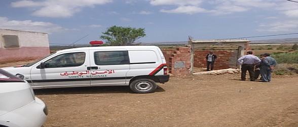 أحفير: الشرطة تقوم بمعاينة البناء العشوائي بدوار أولاد يجو