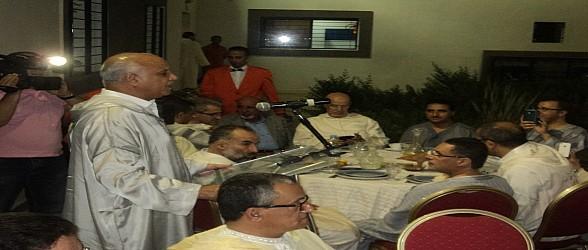 الصويري يطرب نزلاء رياض المسنين بوجدة VIDEO