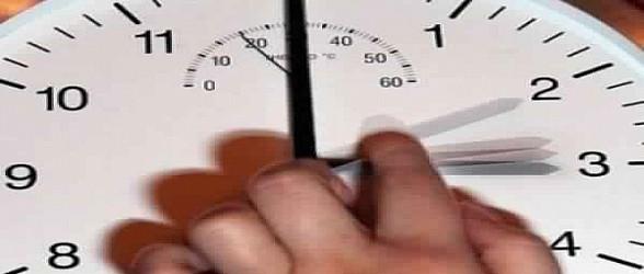إضافة ستين دقيقة إلى التوقيت الحالي للمملكة يوم الأحد 19 يوليوز 2015