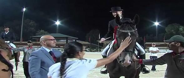 Semaine du cheval 2015: Jenny Guerraoui remporte le Prix de la MAP