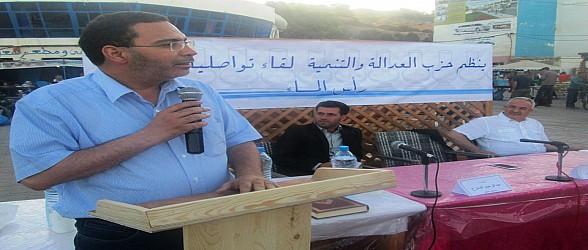 رأس الماء:وزير الإتصال الخلفي على الساكنة  تحمل المسؤولية إزاء مشاكلهم
