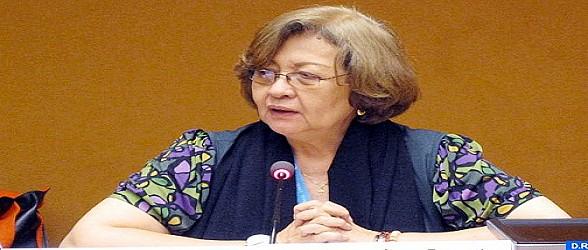 الخبيرة الأممية فيرجينيا داندان تتباحث مع رئيس اللجنة الجهوية لحقوق الإنسان بالداخلة أوسرد