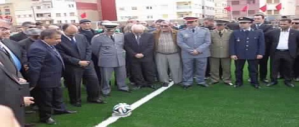 تسليم ملعب الشريف محمد أمزيان بأزغنغان