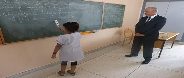 فيديو وصور…والي جهة الشرق يتفقد الانطلاقة الفعلية للدخول المدرسي بحي السمارة بوجدة