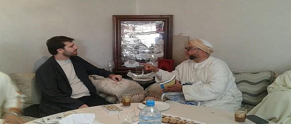 صور..المنشد العالمي سامي يوسف يخص الزاوية الذرفوفية الدرقاوية بوجدة بزيارة خاصة
