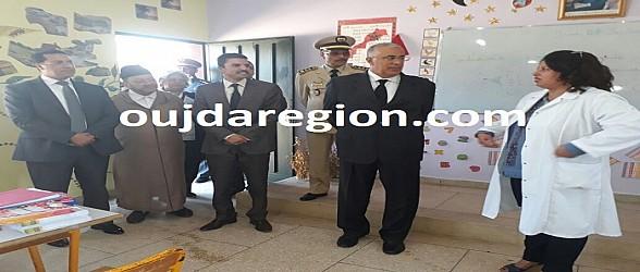 فيديو وصور..والي جهة الشرق يعطي بالحدود انطلاقة الموسم الدراسي