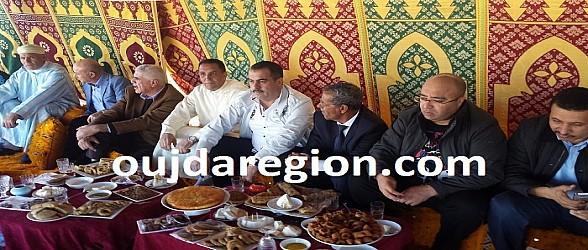 المختار البركاني يتحف الوفد الصحرواي في حفل بجماعة سيدي موسى لمهاية