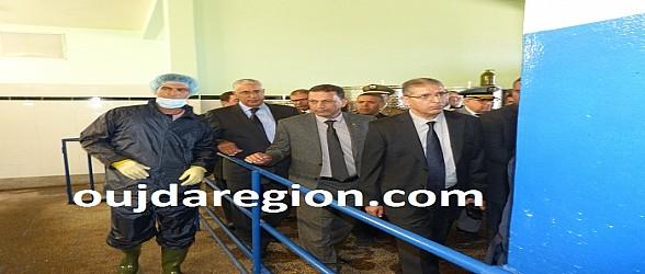 فيديو وصور..جرسيف:والي الجهة وعامل الاقليم في زيارة لتعاونية الوفاق وضيعة نموذجية