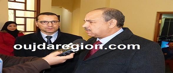 فيديو وصور..الصمدي يشيد بالدور الريادي لجامعة محمد الأول ويوجه رسائل لأطر التعليم العالي
