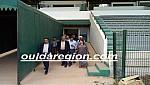 وأخيرا..بعد 40 سنة،لجنة من وزارة الشباب والرياضة تحل بالملعب الشرفي بوجدة لمعاينة الوضعية