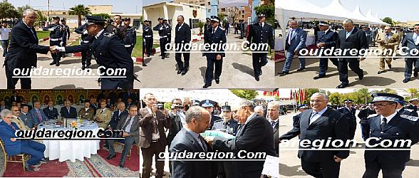 فيديو وصور..شاهدوا كيف احتفلت ولاية أمن وجدة بالذكرى 62 لتأسيس الأمن الوطني