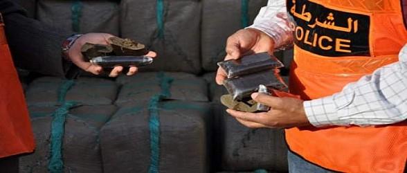 شرطة العروي تحبط عملية ترويج المخدرات وتحجز أزيد من 14 كلغ من الشيرا