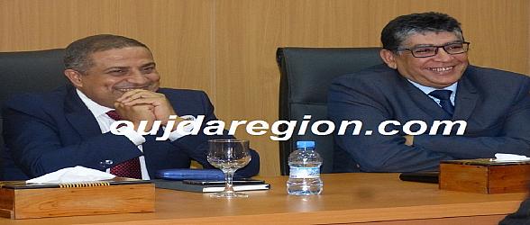 الوالي الجامعي يستقبل الدكتور كوالا وبوطالب ينصبه مديرا جهويا للصحة بجهة الشرق