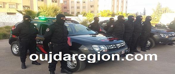 هكذا اوقفت المصالح الامنية 5 مغاربة وسنغالي بالناظور
