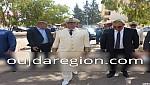 السيد حنفي ابوكير المدير العام للوكالة المستقلة الجماعية لتوزيع الماء والكهرباء بوجدة يهنيء صاحب الجلالة بعيد المسيرة الخضراء
