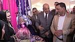 عامل اقليم جرسيف وبوجوالة يفتتحان المعرض الجهوي للصناعة التقليدية