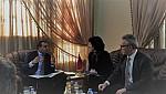 تفاصيل لقاء مدير اكاديمية الشرق بمديرة الوكالة الامريكية للتعاون الدولي
