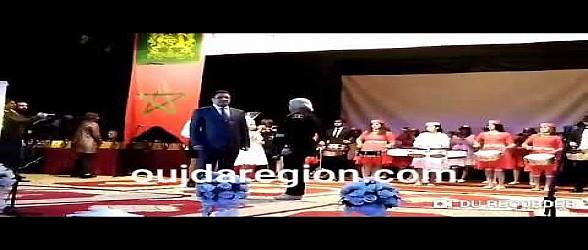 لحظة تكريم الاستاذ فيصل الادريسي الوكيل العام للملك