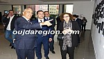 فيديو وصور..الوالي الجامعي والوزير الفردوس في زيارة لرواق الفنون بوجدة