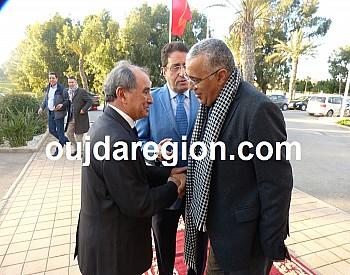 جمعية المحامين بالمغرب تكرم نقيب وجدة سابقا الاستاذ بنعيسى المكاوي