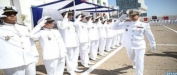 البحرية الملكية المغربية تحتفي بالذكرى الثالثة والستين لتأسيس القوات المسلحة الملكية