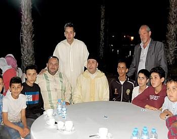 أسرة القضاء تلتقي في إفطار جماعي بالمنتجع السياحي أطاليون بالناظور