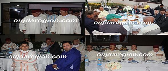 شاهدوا…أجواء إفطار جماعي مع نزلاء رياض المسنين بوجدة