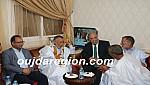 هشام الصغير وأعيان الصحراء المغربية في زيارة للجماني رئيس بلدية الداخلة