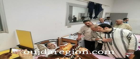 شاهدوا..اجواء مؤثرة خلال افطار نزلاء دار المسنين ببركان احتفاء بقيم للرحمة