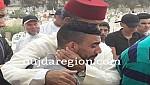 صور..حبوها عامل بركان يتقدم جنازة القائد بلطرش