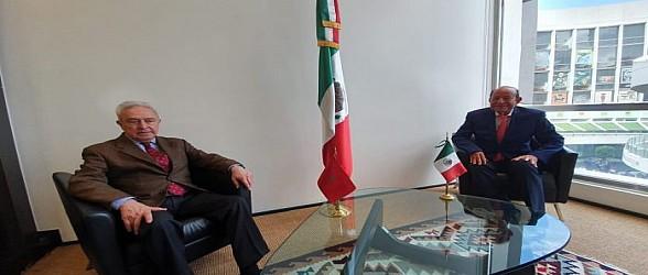 عبد القادر سلامة يجري لقاءات مكثفة بالمكسيك على هامش منتدى رؤساء المجالس التشريعة بامريكا الوسطى و الكارايبي