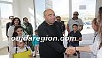 هشام  الصغير يدخل الفرحة على سجناء اصلاحية وجدة