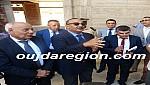 شوفوا..الوزير الأعرج غاضب من تعثر مركز الثقافة بتاوريرت