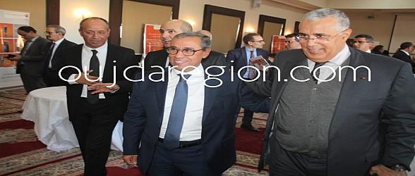 شوفوا..الرئيس المدير العام للبنك الشعبي يجلس مع ارباب المقاولات بجهة الشرق