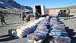 فجيج..السلطات توزع مواد غذائية واغطية على الدواوير التي عرفت التساقطات الثلجية