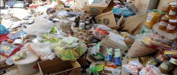 وجدة..حجز عدة أطنان من المواد الغذائية المعدة والمخزنة في ظروف غير صحية