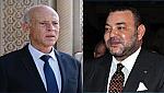 جلالة الملك محمد السادس يجري مباحثات هاتفية مع فخامة السيد قيس سعيد رئيس الجمهورية التونسية