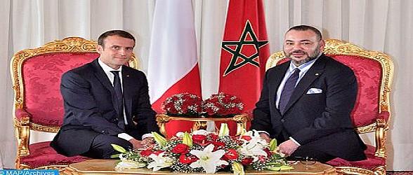 بلاغ الديوان الملكي…جلالة الملكي يتلقى اتصالا هاتفيا من رئيس فرنسا