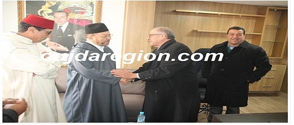 العلامة بنحمزة يفتتح الموسم الثقافي لقصر العدالة بوجدة