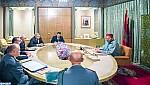 جلالة الملك يعقد جلسة عمل بخصوص وباء كورونا