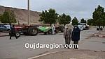جرادة..رئيس المجلس الاقليمي يقف على عملية تعقيم الاقليم