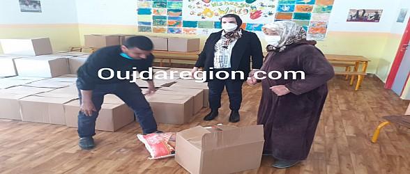 شاهدوا..في عز كورونا مؤسسة الصفاء بوجدة تدخل الفرحة لقلوب ذوي الاعاقة