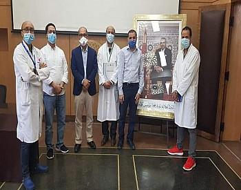 الجمعية المغربية الطبية للتضامن في خدمة مرضى كورونا