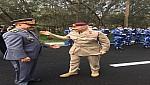 الجنرال حرمو يتباحث مع كبير مسشاري الدفاع البريطاني