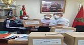 مديرية الشرق للشباب والرياضة تسارع في توزيع الحقائب الصحية