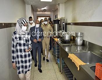 العامل التويجر يقف على ظروف استقبال مرضى كورونا