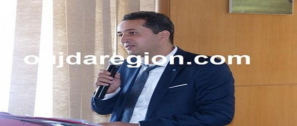 الاستاذ الاعزاني يعزي في وفاة القاضي محمد الفراد