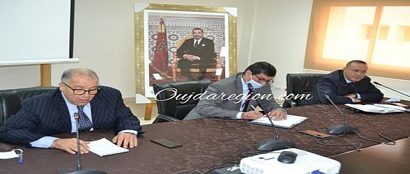 وجدة..لقاء يجمع الرئيس الاول والوكيل العام للملك بالمكتب الجديد لنقابة المحامين